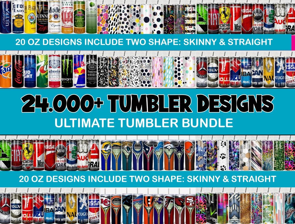 24.000+ Huge Tumbler Bundle, Mega Tumbler Bundle, Tumbler Bundle Design, Sublimation Tumbler bundle, 20oz skinny Tumbler Bundle