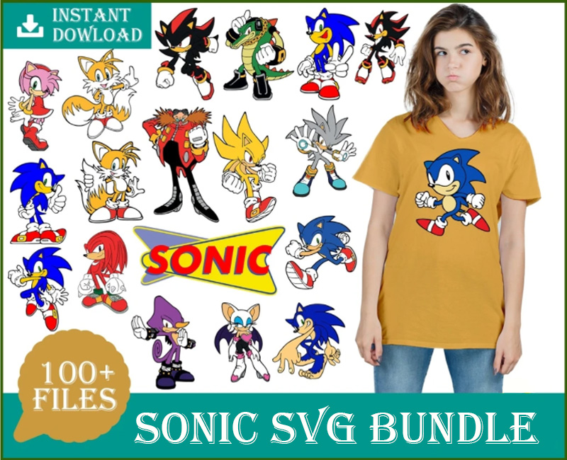 100+ Sonic bundle svg, Sonic Bundle SVG, Sonic The Hedgehog Svg, Sonic Characters Svg, Cartoon Superhero Mario Sega Svg, Video Game Svg, Sonic Chaos Svg, Knuckles, Png, Dxf, Eps