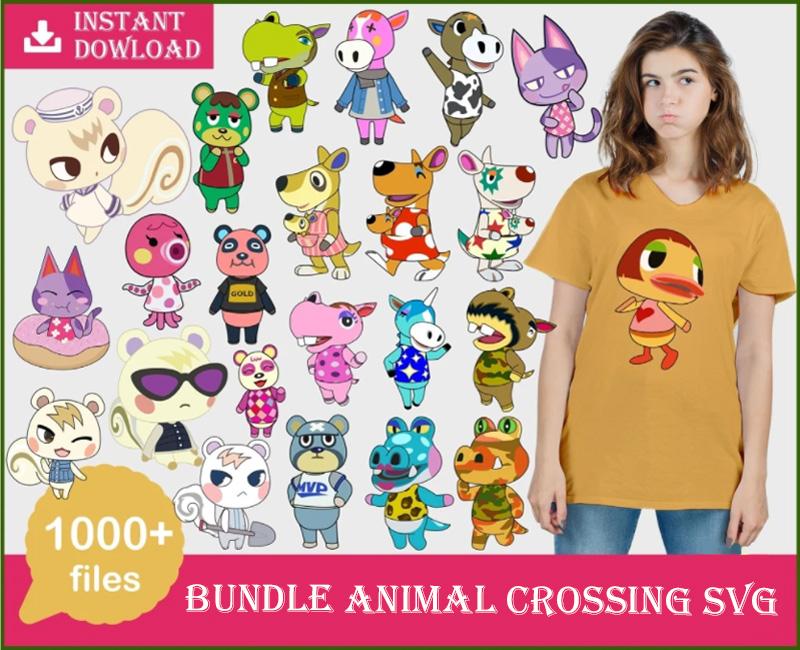 1000+ Animal crossing SVG vectors, Bundle animal crossing svg, Animal svg, Animal bundle svg, Animal cricut, bundle svg, digital dowload