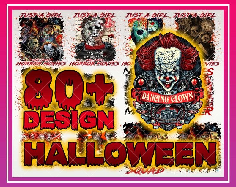 80+ Horror Halloween Bundle Png, Happy Halloween Png