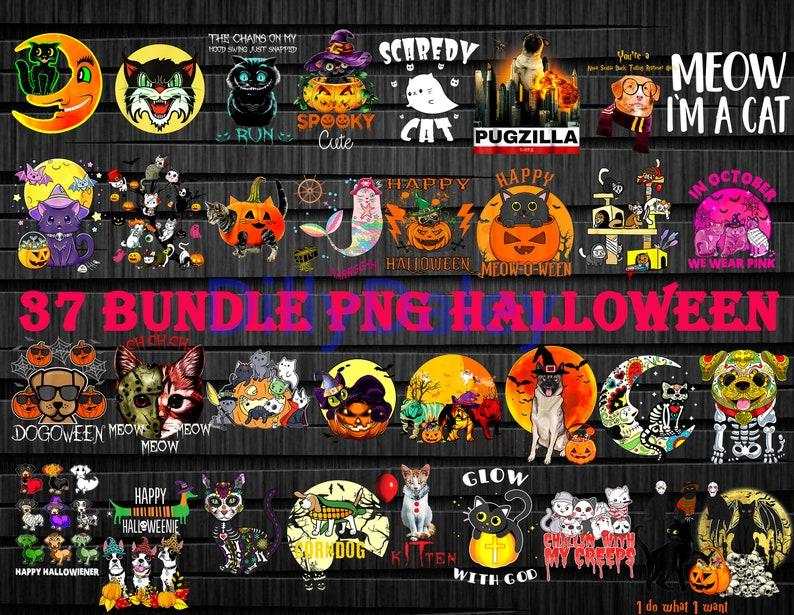 37+ Bundle Halloween PNG, Halloween Bundle PNG, Dog Halloween Bundle
