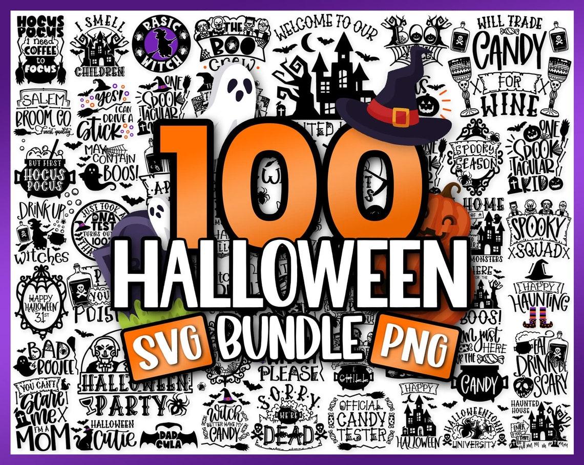 100+ Halloween Bundle, Halloween Svg Bundle, Witch svg