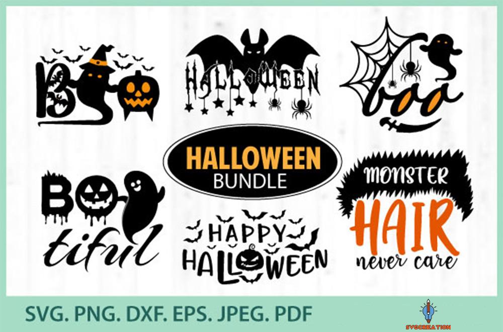 Bundle Halloween Svg, Halloween SVG, Fall Svg, Autumn Svg