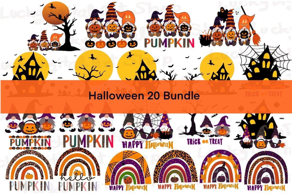 Halloween 20 Bundle, Halloween SVG Bundle, Halloween SVG