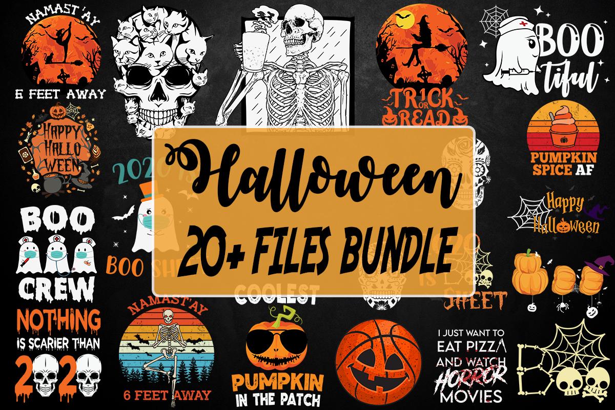 20+ Halloween Bundle, Halloween Vector, Sarcastic Svg, Silhouette