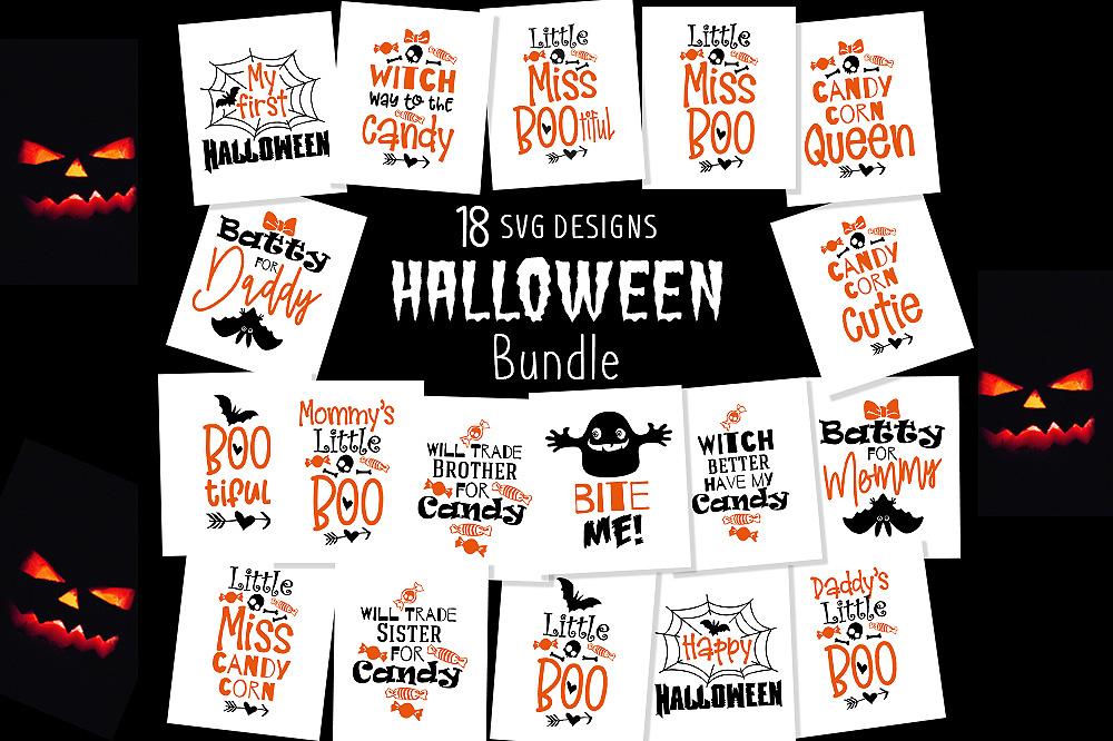 18 Halloween SVG Bundle, Halloween svg, Ghost svg