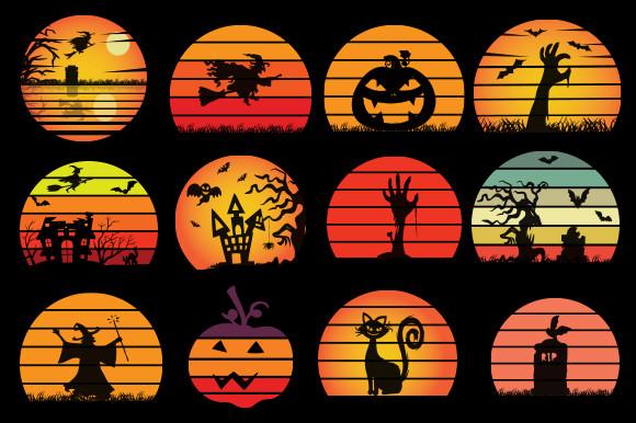 Art Bundle Halloween, Halloween Vector, Sarcastic Svg, Silhouette