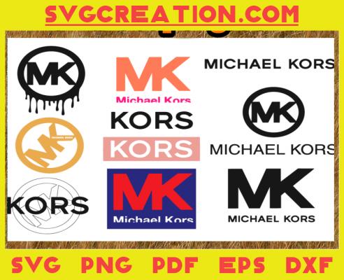 Michael Kors Logo Svg Bundle, Michael Kors Logo, MK Brand