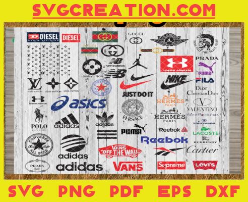 Fasion Brand Logos, Brand Logo Svg, Brand Logo Vector