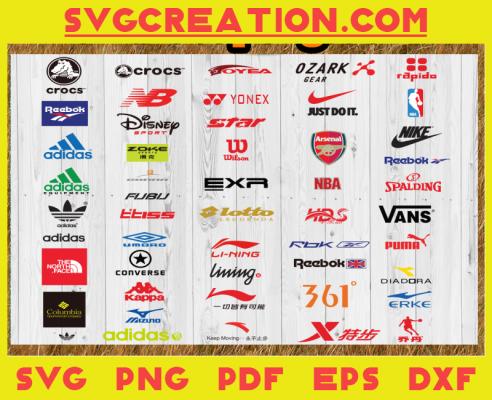 Bundle Logos Svg, Trending Svg, Brand Logo Svg, Sport Fashion Brand