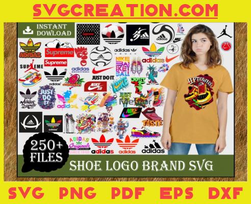 250 Brand Logo Svg Bundle, Adidas Svg, Nike Svg