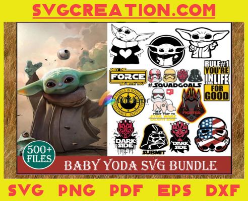 500+ Baby Yoda Svg Bundle, Star Wars Svg, Baby Yoda Svg